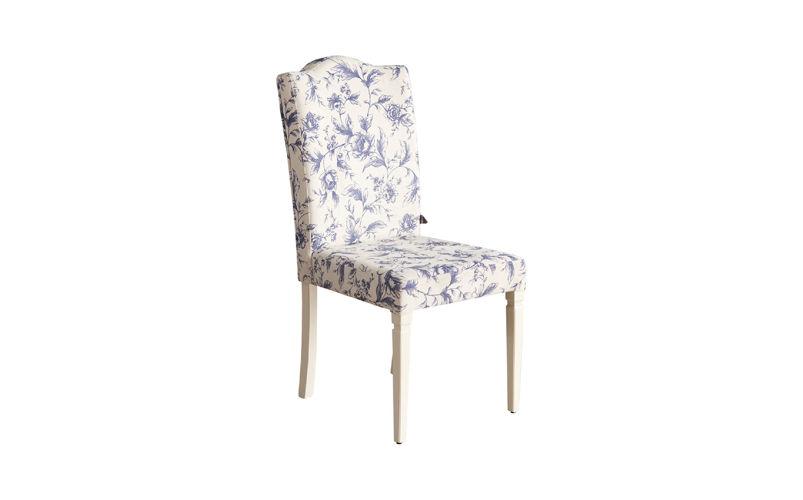 Alaçatı Sandalye Flower Mavi Çiçek