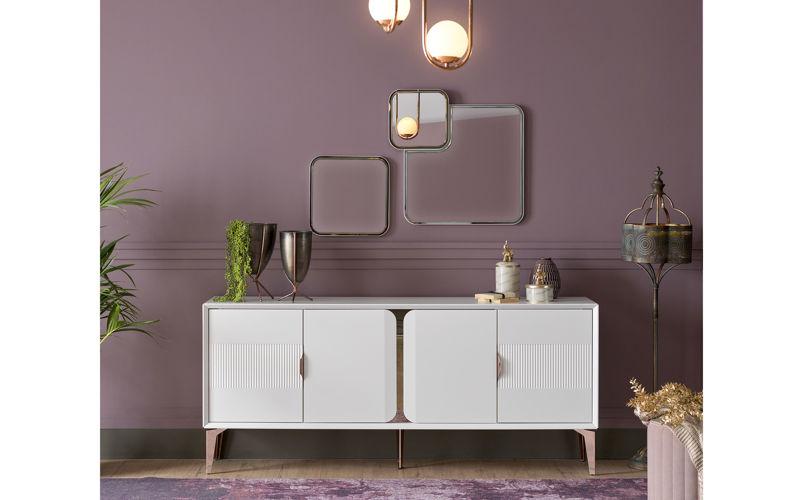 Garneth Konsol Ayna