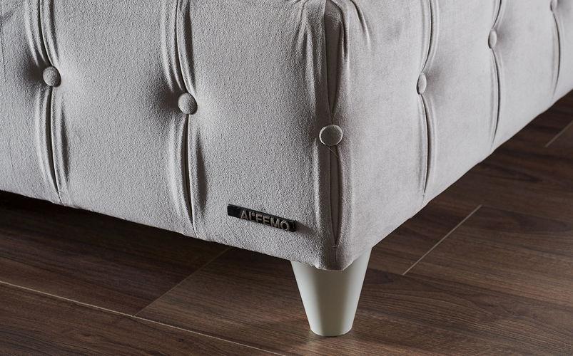 Premium Star Sandıklı Baza Tek Parça 140 X 190 Beyaz